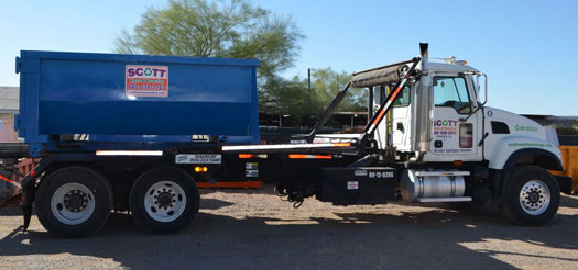 roll-off dumpster rental for residental homeowners in Phoenix Arizona and surrounding cities