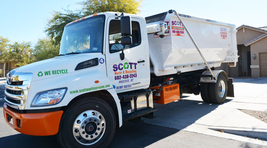 Phoenix AZ dumpster rental - locally owned and operated